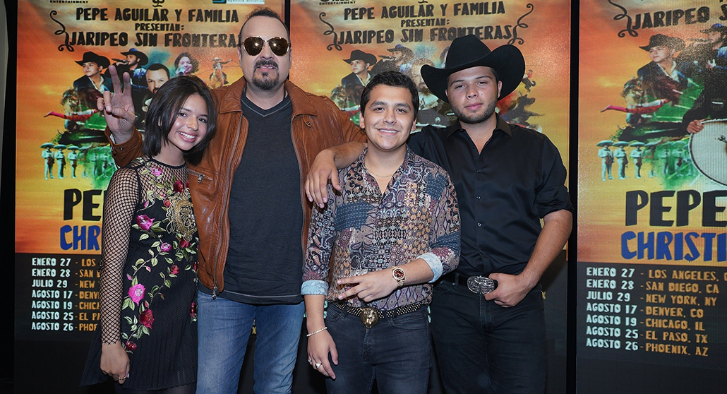 Pepe Aguilar And Family Revive Jaripeo Tradition Mm Group