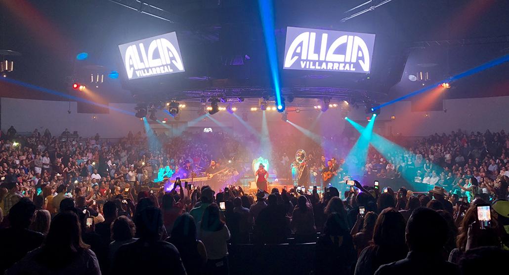 Alicia Villarreal Arena Theater