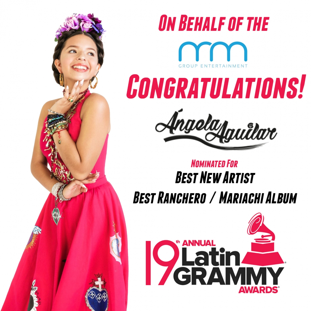 Congratulations Angela Aguilar On Your Latin Grammy Nominations