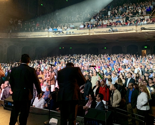 Los Angeles Azules Paramount Theatre