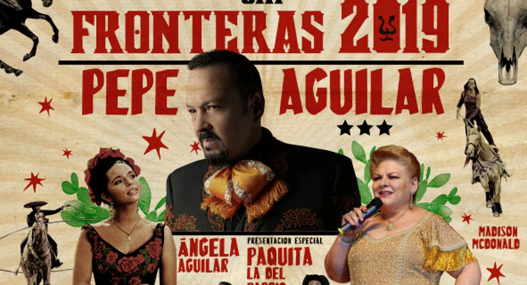 Pepe Aguilar's 2019 Jaripeo Sin Fronteras Tour