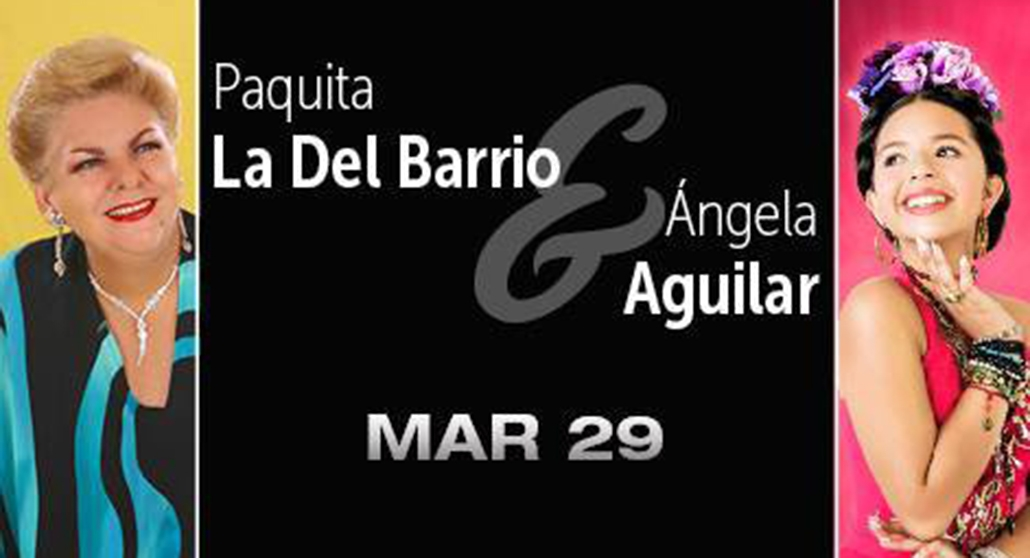 Paquita and Angela